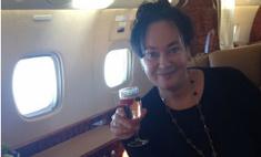 Гузеева разозлила поклонников фото с личного самолета