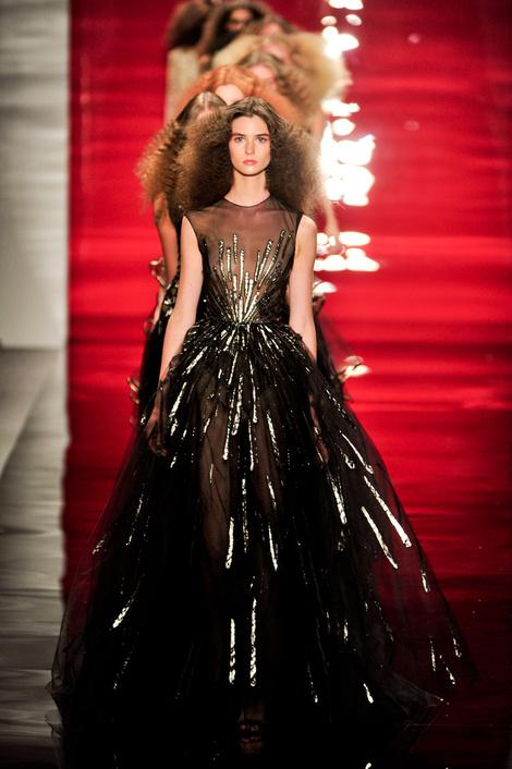 Reem Acra на Неделе моды в Нью-Йорке