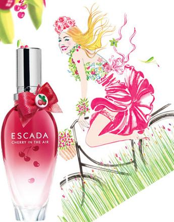 Аромат Cherry In The Air, Escada