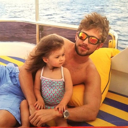 Виктория Боня фото дочери