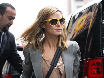 Хайди Клум (Heidi Klum) разделась во время фотосессии для телевизионного проекта «Подиум»