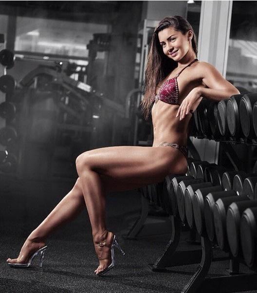 Ирина Стеблинская, фитнес-бикини модель, г. Красноярск