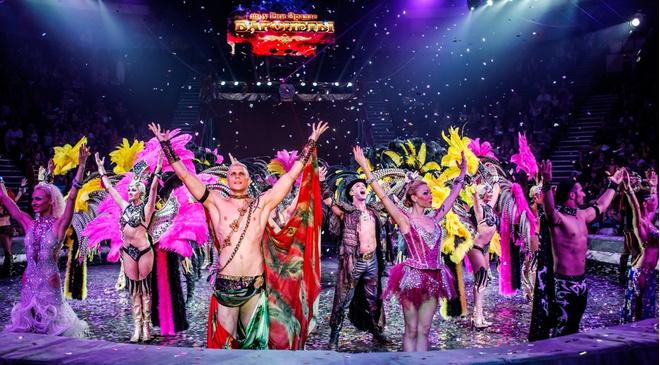Шоу «Баронеты» в красноярском цирке