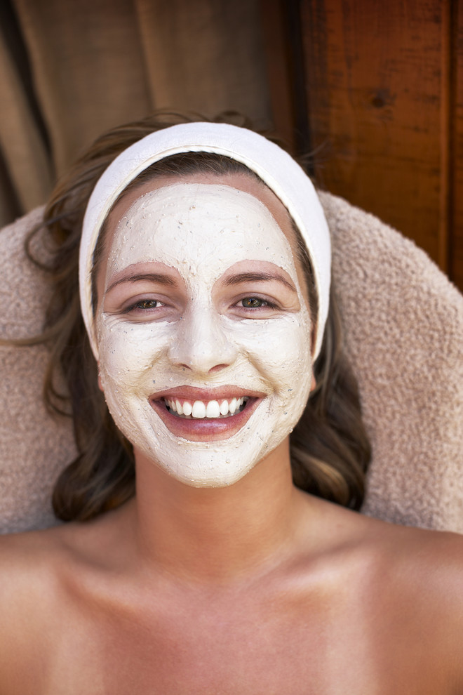 маска для лица из желатина и молока