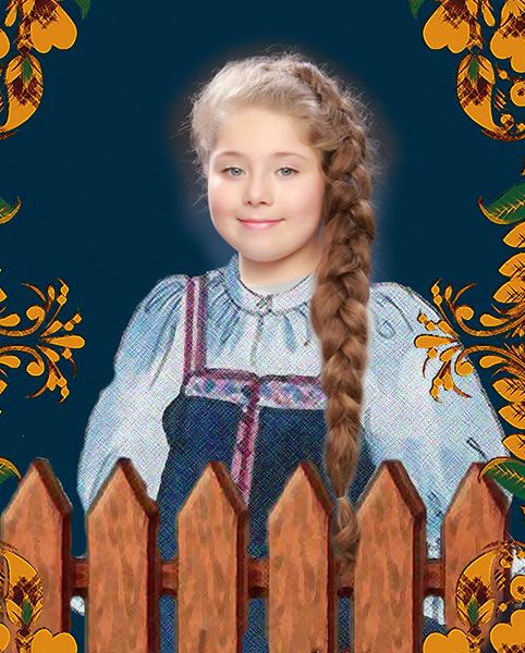 Лукерья Лосева, «Уральская краса – русская коса», фото