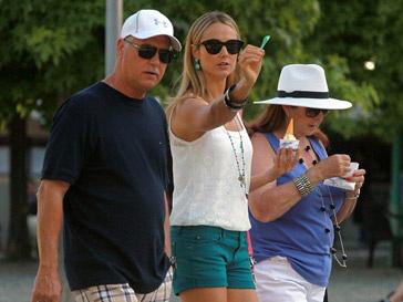 Стейси Киблер (Stacey Kiebler) с родителями
