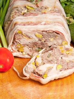 Террин из свинины и курицы