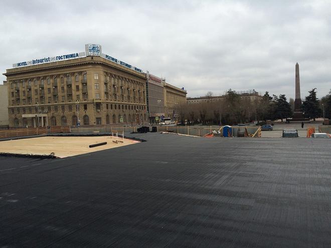 каток с искусственным льдом в центре Волгограда откроется 19 декабря