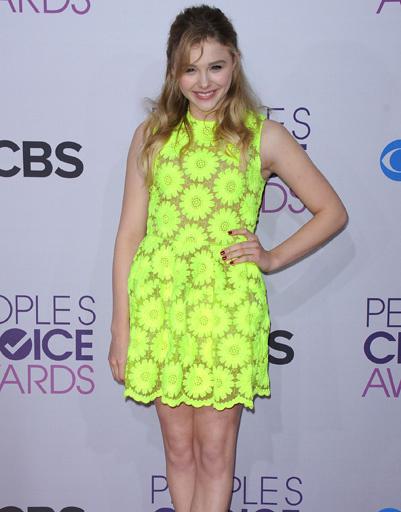 Хлоя Грейс Морец (Chloë Grace Moretz) на People's Choice Awards 2013