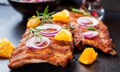 Оригинальные рецепты: свинина в апельсинах