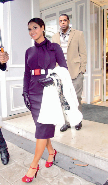 Бейонсе в Chanel.