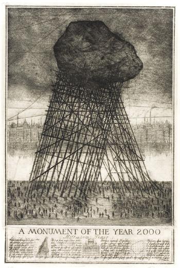 И.Уткин, «Монумент 2000 года», 1997 год.