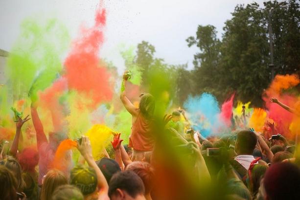 Фестиваль красок Холи, Волгоград