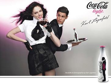 Рекламная кампания Coca-Cola Light