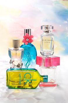 Yves Saint Laurent Туалетная вода Manifesto L'Eclat; Escada Туалетная вода Born in Paradise; Elie Saab Туалетная вода Le Parfum L'Eau Couture; Shiseido Туалетная вода Zen Sun Fraîche; Calvin Klein Туалетная вода CK One Summer