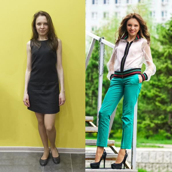 До и после: Светлана Бехтерева