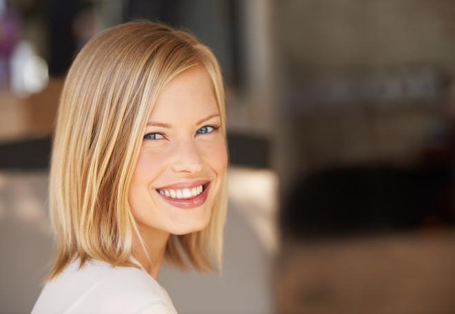 Каре на светлые волосы - тренд сезона