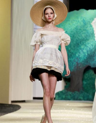 Коллекция Ulyana Sergeenko Haute Couture весна-лето 2013 на Неделе высокой моды в Париже