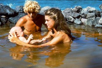 Кадр из фильма «Голубая лагуна» (1980)