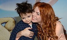 Стоцкая: «Сын похож на Киркорова? Мой муж тоже брюнет!»