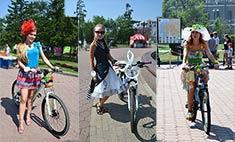 Самые модные велосипедистки Иркутска