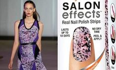 Модный маникюр: актуальные принты для ногтей