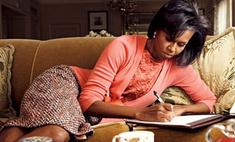 Мишель Обама напишет книгу о здоровом питании