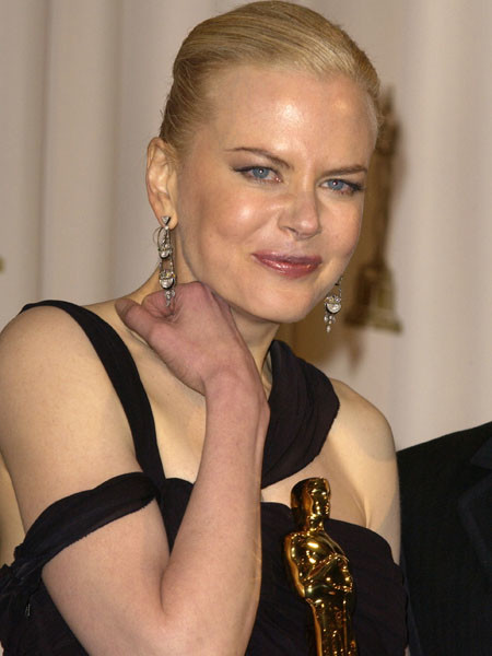 Николь Кидман, церемония Оскар, 2003 год