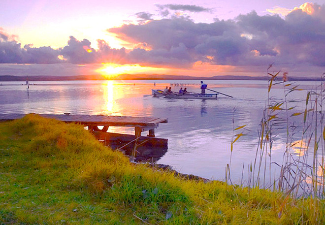 Озеро в Сормовском парке