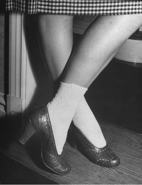 Девушка-подросток, 40-е годы