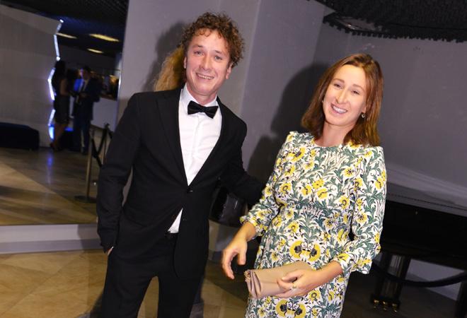 Александр Яценко с женой Марусей: фото