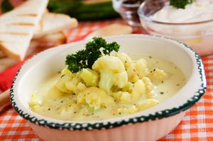 Блюда из замороженной цветной капусты