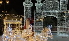Сказочный городок открылся на Кремлевской набережной в Казани
