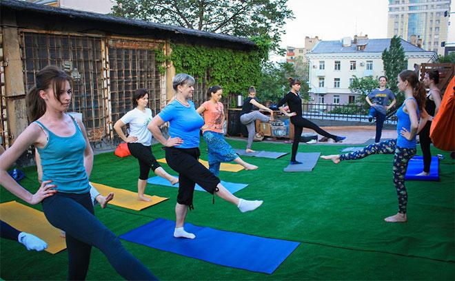 йога на крыше в Ростове, йога ростов, йога +в ростове +на дону, куда пойти в Ростове с 25 по 31 мая