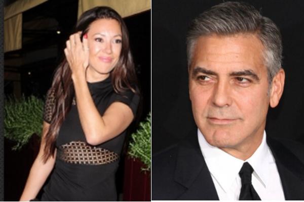 Моника Якисик и Джордж Клуни