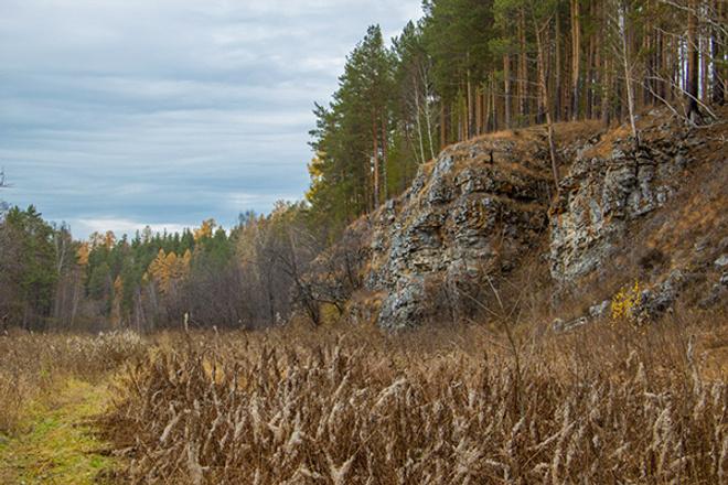 Река Чусовая, осень на Урале