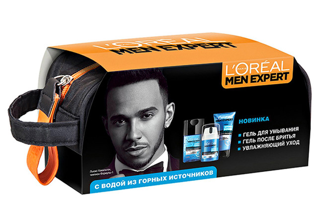 Подарочный набор «Гидра Сенситив», L'Oreal Men Expert, цена по запросу