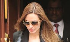 Анджелина Джоли отвела дочерей в салон красоты