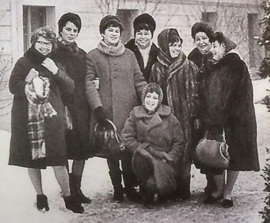 Как одевались зимой наши прабабушки