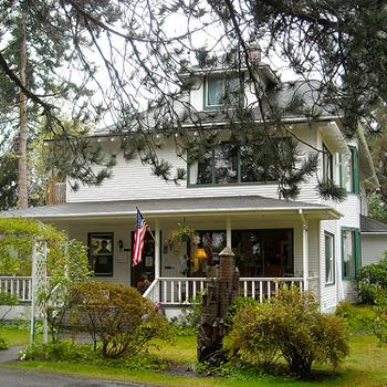 Здание трехзвездной гостиницы Miller Tree Inn было построено в 1916 году и первоначально было домом фермера.