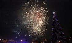 Огни главной елки Красноярска загорятся 25 декабря