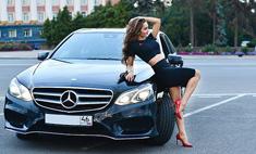 Красотки за рулем: сексуальные автоледи Курска