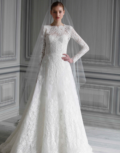 Изобр по > Закрытые Свадебные Платья с Рукавами