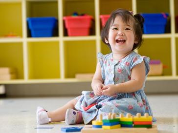 Китайский ребенок в детском саду