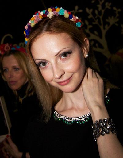 Уличный стиль на российской Неделе моды Mercedes-Benz Fashion Week осень-зима 2013/14
