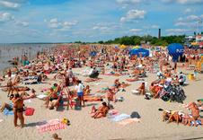 Курорт Пярну знаменит своими песчаными пляжами