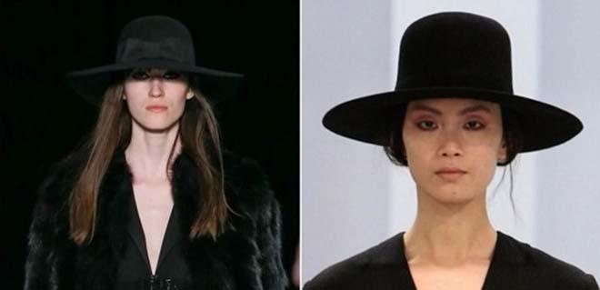 мода 2014 широкополая шляпа