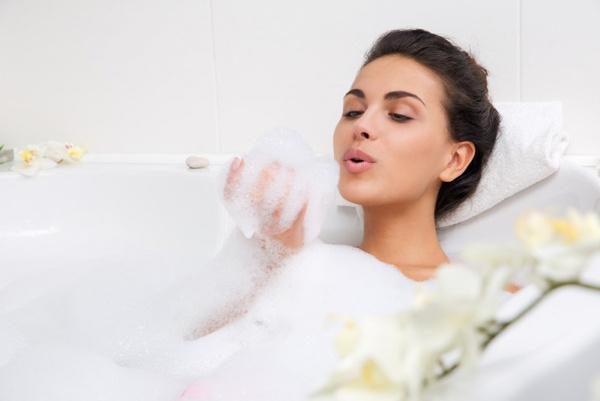 Как сделать много пены в ванне? Чтобы пены было много!