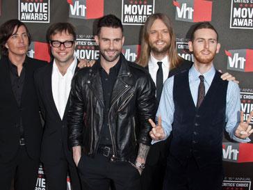 Российские поклонники Maroon 5 увидятся со своими кумирами осенью 2011 года