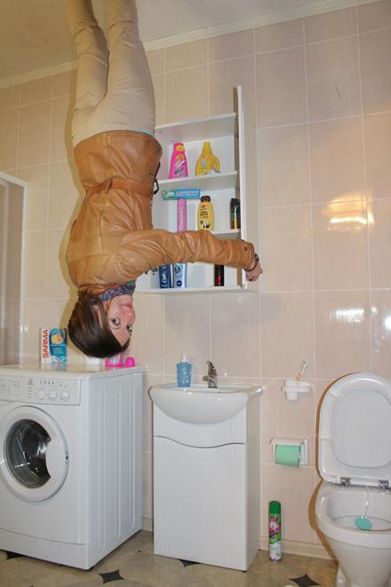 Как в обычном доме – есть все, включая ванную комнату.